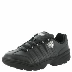 06381-019 K-Swiss Altezo 5-Stripes Tennis Shoes Black/Silver