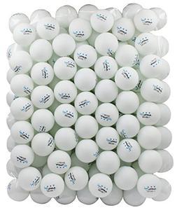 100 White 3-star 40mm Table Tennis Balls Advanced Training P