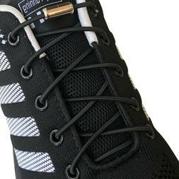 3 pair lazy No Tie Elastic lock laces Shoe laces for dress s