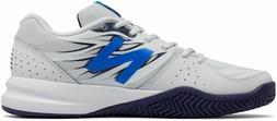 New Balance 786 Men Tennis Shoes Artic Fox-Electric Blue MC7