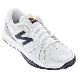 New Balance Women's 786v2 Tennis Shoe, White/Blue, 8 D US