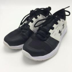 Under Armour 8 Men's Tennis Shoes Charged Core Black White