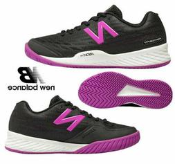 New Balance 896 v2 Hard Court Tennis Shoes Black Purple WCH8