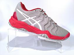 ASICS Unisex Kids Gel-Resolution 7 GS Tennis Shoe, Glacier G