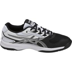 ASICS Unisex-Kids Upcourt 2 GS Tennis Shoe, Black/Silver/Whi