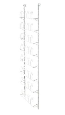 ClosetMaid 97536 Adjustable Wall & Door Shoe Organizer