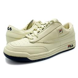 Fila Men's Original Vintage Tennis Shoe,Cream/Navy-Red,10 M