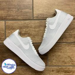 Nike Air Force 1 Flyknit 2.0 Men Casual Shoes AF1 White Pure