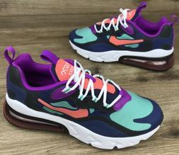 NIKE Air Max 270 React GS Sneaker Shoes BQ0103-402 Youth Siz