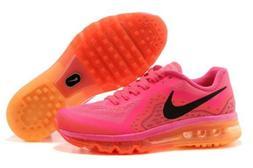 Nike Air Max Women's Hot Pink Orange Running 11 US Shoes T
