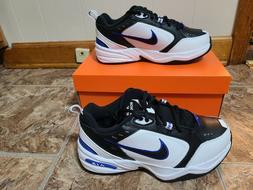 Nike Air Monarch IV 4E-Width Men's Black/Black/White 7-13, 1