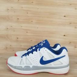 NIKE AIR VAPOR ADVANTAGE TENNIS SHOES RED/WHITE/BLUE USA MEN