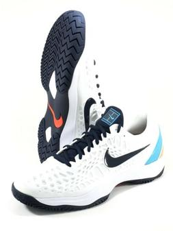 Nike Air Zoom Cage 3 HC Tennis Shoes Mens Size 12 White Oran
