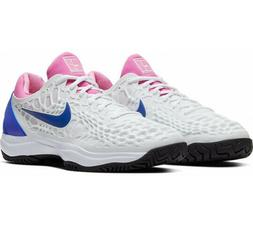 Nike Air Zoom Cage 3 Nadal Men's Tennis Shoes White 918193-1