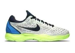 Nike Air Zoom Cage 3 Tennis Shoes Mens 10 Vast Grey Blackend