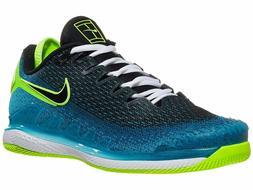 Nike Air Zoom Vapor X Knit Tennis Shoe Turquoise/Lime