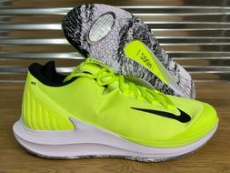 Nike Air Zoom Zero PRM HC Tennis Shoes Volt Black White SZ