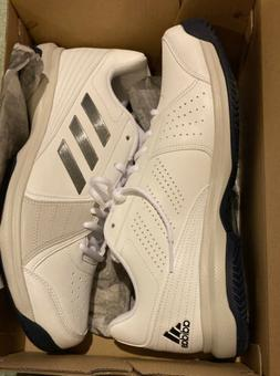 Adidas Approach Tennis Shoes Cloudfoam Triple White Grey B96