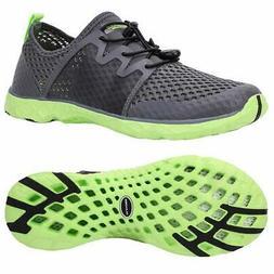 ALEADER Aqua Water Shoes for Men Comfortable Tennis Walking