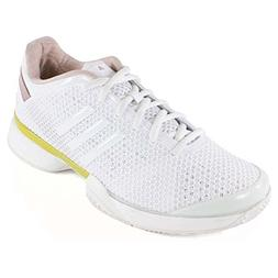 Adidas aSMC Barricade Womens Tennis Shoe 8 White-Yellow