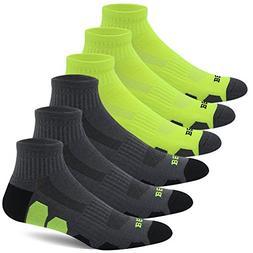 BERING Men's Performance Athletic Ankle Running Socks