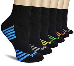 BERING Women's Performance Athletic Quarter Ankle Socks for