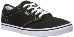 VANS ATWOOD LOW CANVAS BLACK/WHITE WOMEN SHOES VN-0NJO187