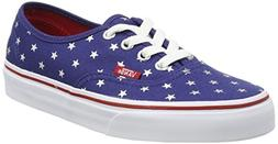 Vans Unisex Authentic Red/Blue Sneakers