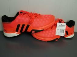 Adidas Barricade 2015 Boost Hyper Crimson Tennis Shoes Mens