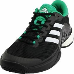 adidas Barricade 2017 Boost Tennis Shoes Black - Mens - Size