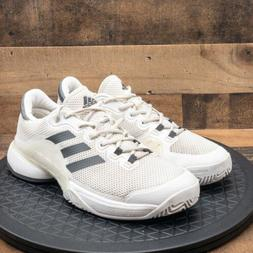 Adidas Barricade 2017 Mens Athletic Shoes Court Tennis White