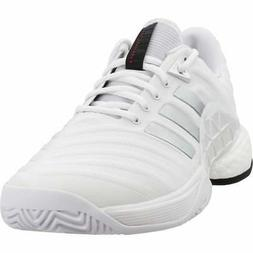 adidas Barricade 2018 Boost  Casual Tennis Court Shoes - Whi
