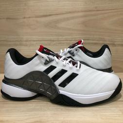 Adidas Barricade 2018 Mens Tennis Shoes White Racquet All Co