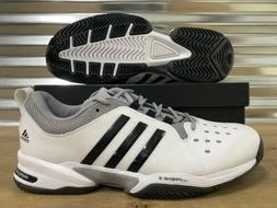 Adidas Barricade Classic Adiprene Tennis Shoes White Black 4