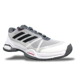 Adidas Barricade Club Mens Tennis Shoes White/Grey-Black CM7