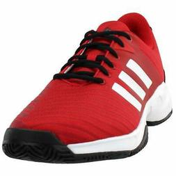 adidas Barricade Court 3  Casual Tennis  Shoes Red Mens - Si