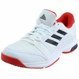 adidas Barricade court OC  Casual Tennis Court Shoes - White
