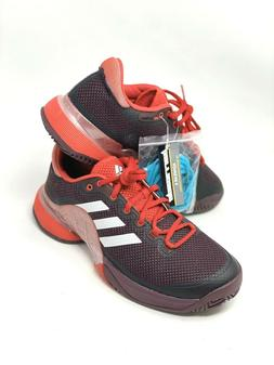 Adidas Barricade Mens Tennis Shoes Red/Bordeaux Size 7.5 BY1
