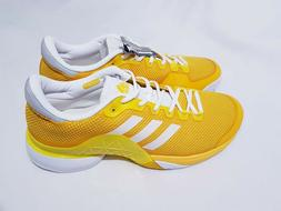 Adidas Barricade Size 12.5 Tennis Shoes Yellow/White BY1623