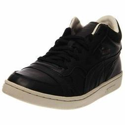 Puma Becker OG Leather Tennis Shoes - Black - Mens