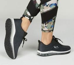 Skechers Black Shoes Women's Memory Foam Sport Air Cushion C