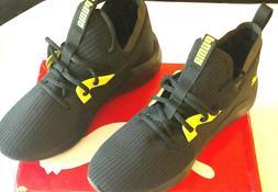 Puma Black Soft Foam Optimal Comfort Athletic Shoes Sneaker