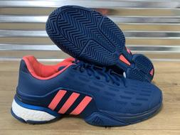 Adidas Boost Barricade 2016 Tennis Shoes Blue Neon Pink Whit