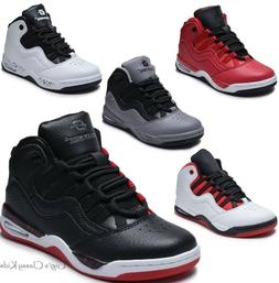 Boys Girls High Top Sneakers Tennis Shoes Basketball Youth K