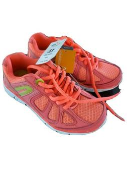 C9 Champion Shoes size 13 1/2 girls running shoes coral colo