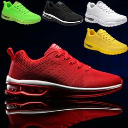 Casual Men's Running Shoes Breathable Athletic Sneakers Spor