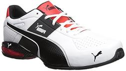 PUMA Men's Cell Surin 2.0 FM Sneaker, White Black, 10 M US