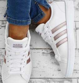 Adidas CF Advantage Women's Tennis Shoes Size 11 white/rose