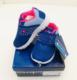 Champion Girls Toddlers Gusto Blue Pink Sneakers Tennis Shoe