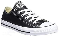Converse Chuck Taylor All Star Leather Low Top Sneaker, Blac